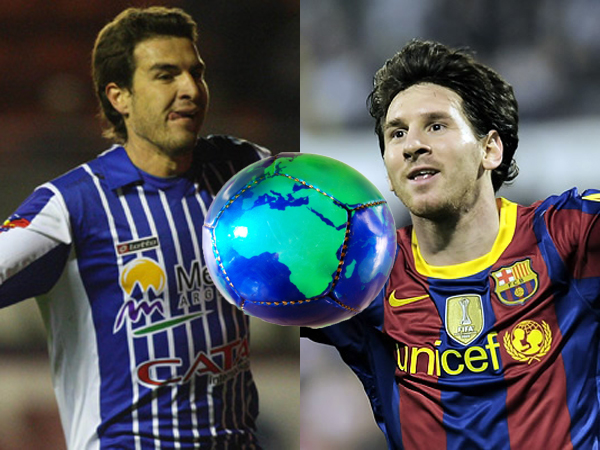 David Ramírez y Lionel Messi son los mayores exponentes de sus equipos, Godoy Cruz y Barcelona.